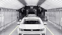VW acknowledged the impact of the chip shortage on output in China.