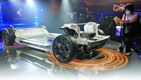 """Foxconn says its MIH electric platform gives """"developers access to key technologies and tools"""" to develop EVs."""