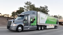 TuSimple's self-driving commerical truck