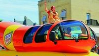 Oscar Mayer is letting the good times, and its Wienermobiles, roll.