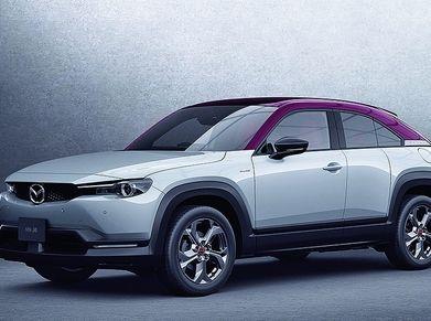 Japanese version of the Mazda MX-30