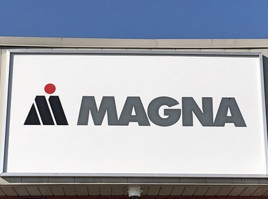 Magna sign in London, Ontario