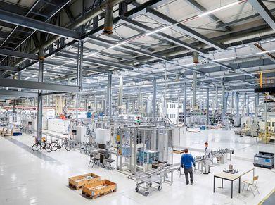VW Salzgitter battery production