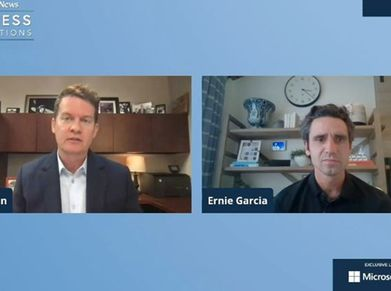 Carvana CEO Ernie Garcia interviewed during Automotive News' Congress Conversations.