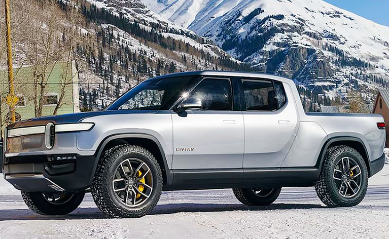 Rivian's R1T is slated to go into production late next year at a former Mitsubishi Motors plant in Normal, Ill., and will be priced from $69,000.