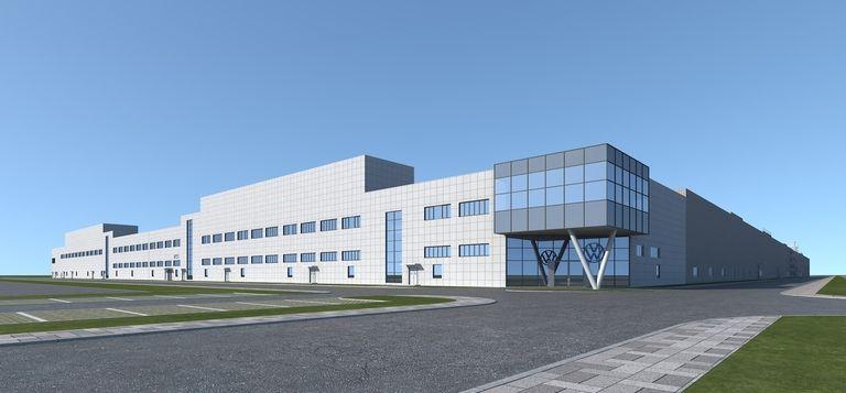 EV factory China