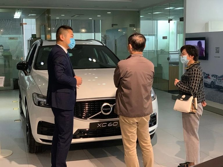 Volvo back on growth track
