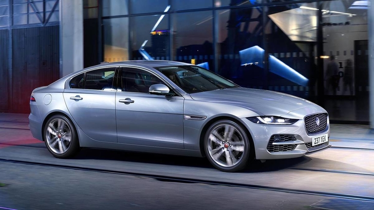 Jaguar's freshened 2020 XE rolls into Geneva
