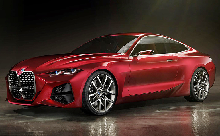 BMW's next 4-series coupe gets a bigger, bolder grille