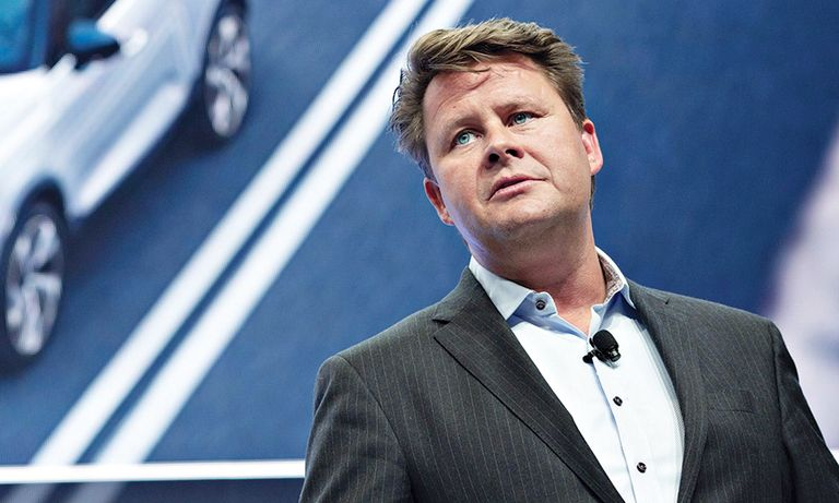 VOLVO'S ANDERS GUSTAFSSON: Crisis shows more urgent need for future tech