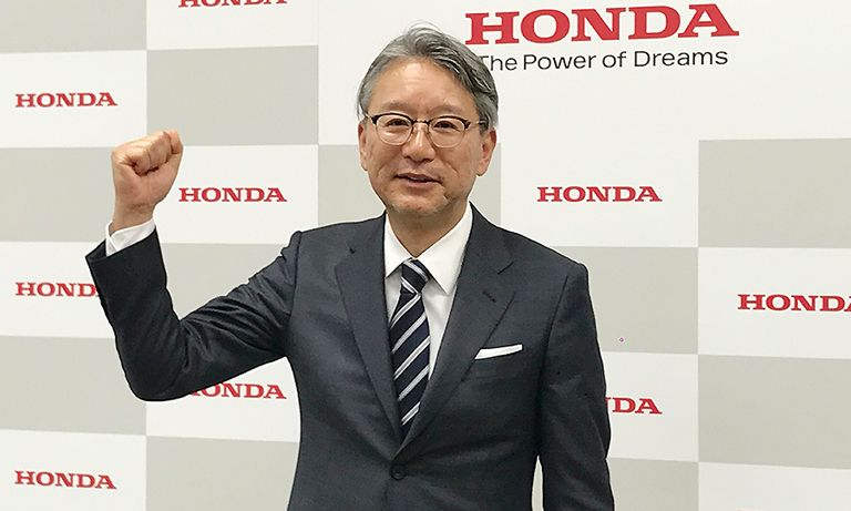 Toshihiro Mibe is a veteran powertrain engineer, which has put him in close contact with the challenges Honda is facing.