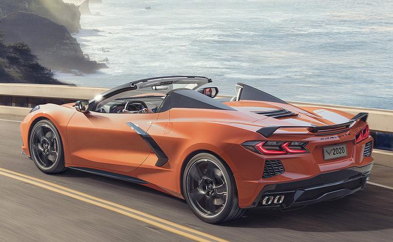 2020 Chevrolet Corvette convertible rear quarter