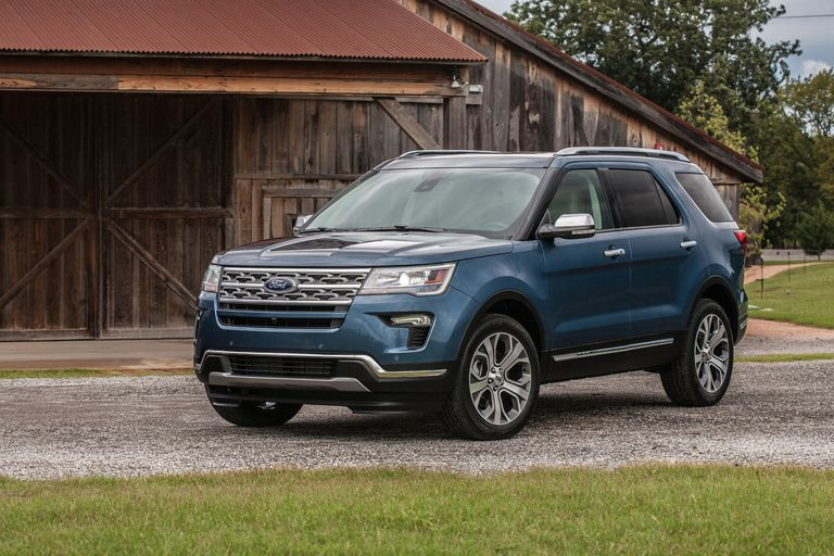 Ford recalls 661,000 Explorers in N.A. to inspect, secure roof rail covers