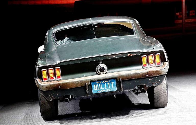 Steve McQueen's famed 'Bullitt' Ford Mustang sells for $3.4M
