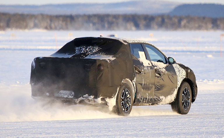 Hyundai's Alabama pickup is spotted testing in Finland
