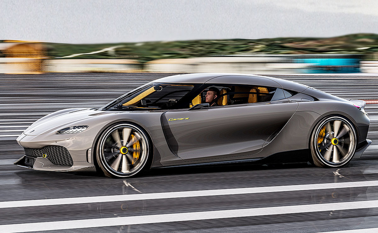 1,700-hp Koenigsegg Gemera gasoline-electric hybrid has top speed of 250 mph
