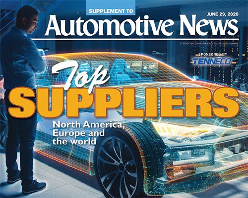 Here's our annual ranking of top suppliers