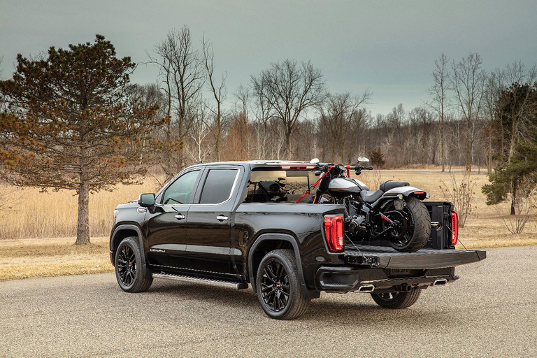 GMC Sierra with carbon fiber box starts at nearly $67,000