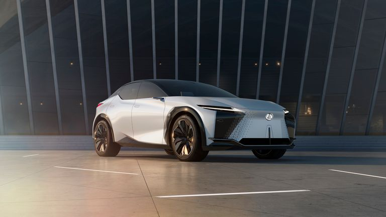 Lexus LF-Z Electrified concept offers glimpse of brand's future