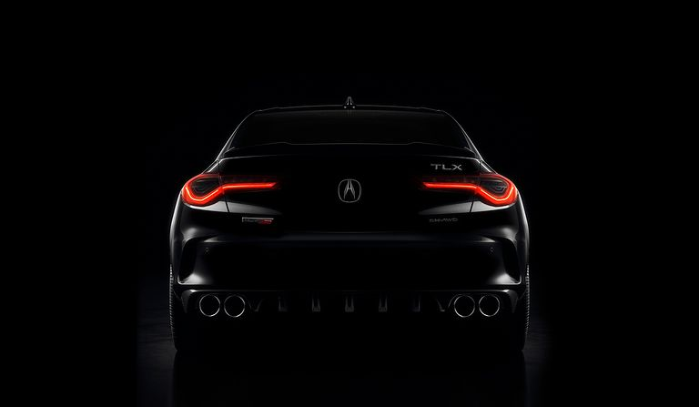 Acura teases next-gen TLX, debut set for May 28