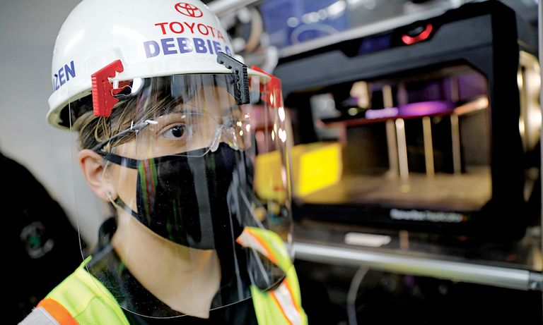 With head start, Toyota takes ramp-up slowly