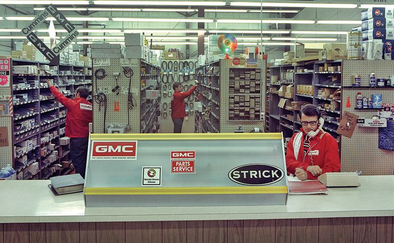 GMC Store in 1973