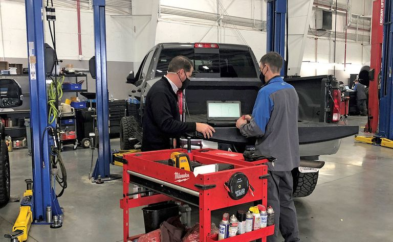 Rapid Recon helps dealers streamline used-car reconditioning