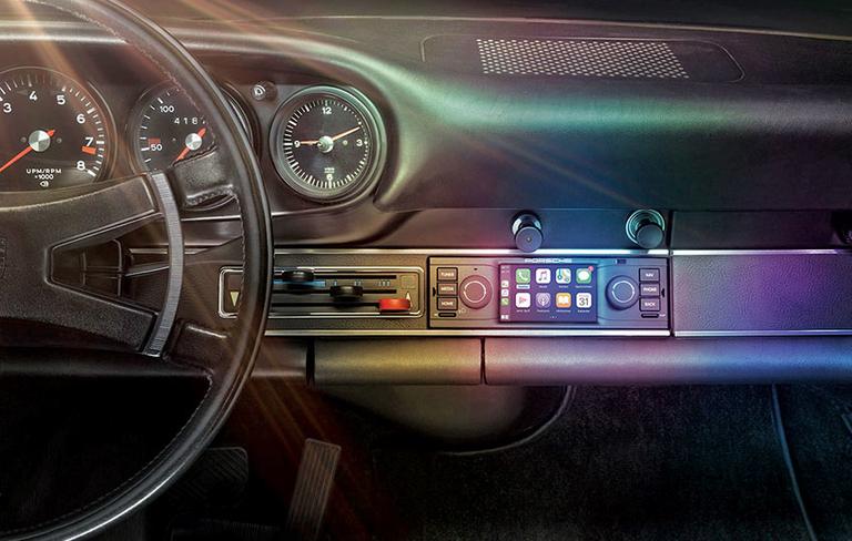 Porsche rewrites history to include Bluetooth tech