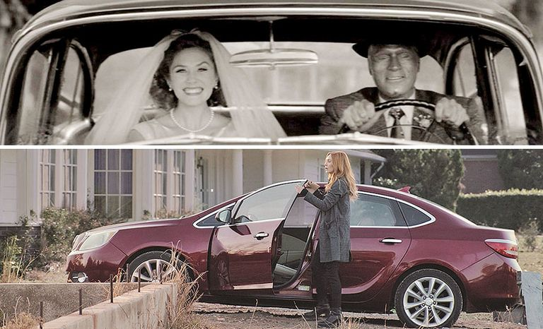 Through the years, which witch only drives Buicks?