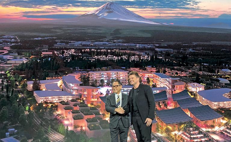 Toyota's city of tomorrow