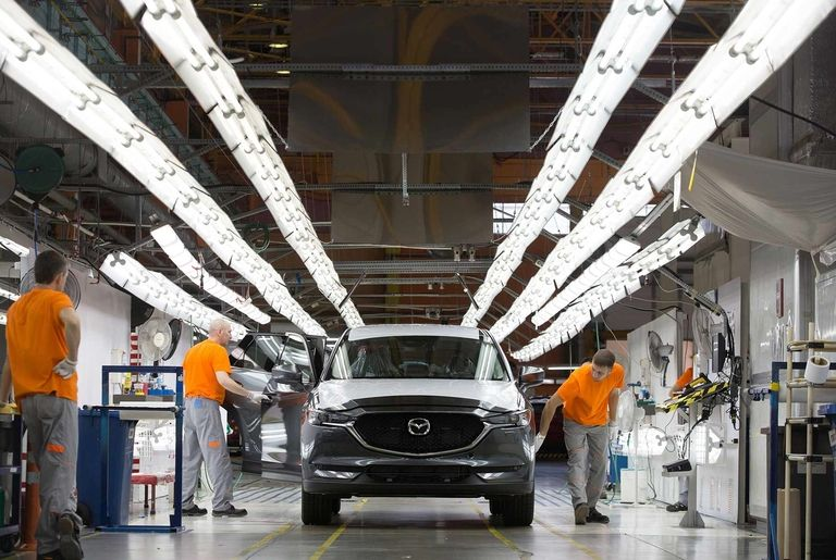 Mazda seeks to borrow $2.8B to ride out pandemic, report says