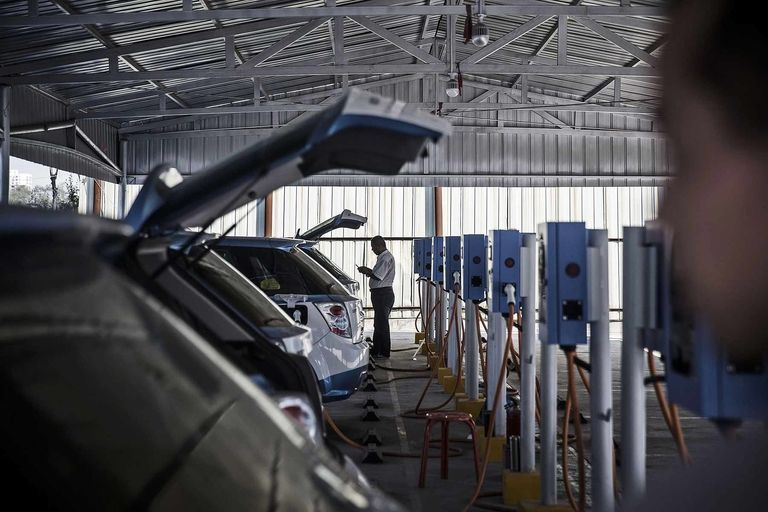 Chinese tech companies are turning their sights on EVs