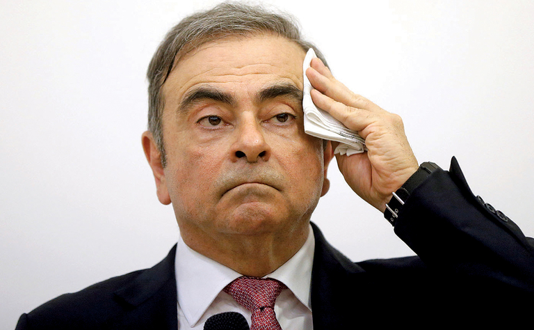 Ghosn pressured