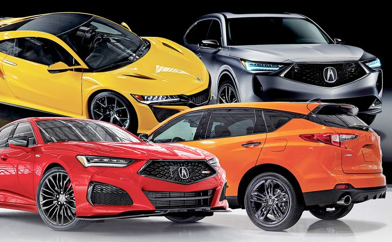 Acura pushes upmarket with performance-focused redesigns
