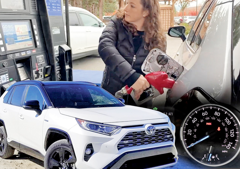 Pain at the pump for some RAV4 Hybrid owners