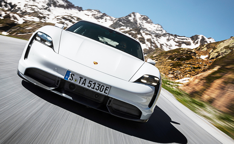 Porsche aims to pair speedy Taycan with fast charging