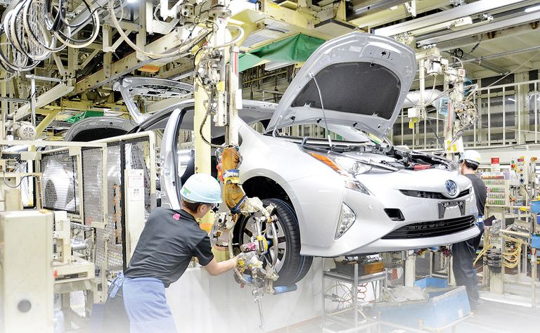 Toyota sees further recovery in global output in August