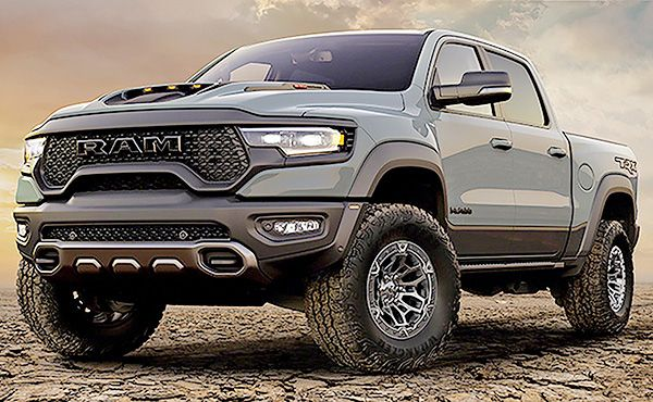 Ram battles Ford Raptor with 702-hp TRX pickup