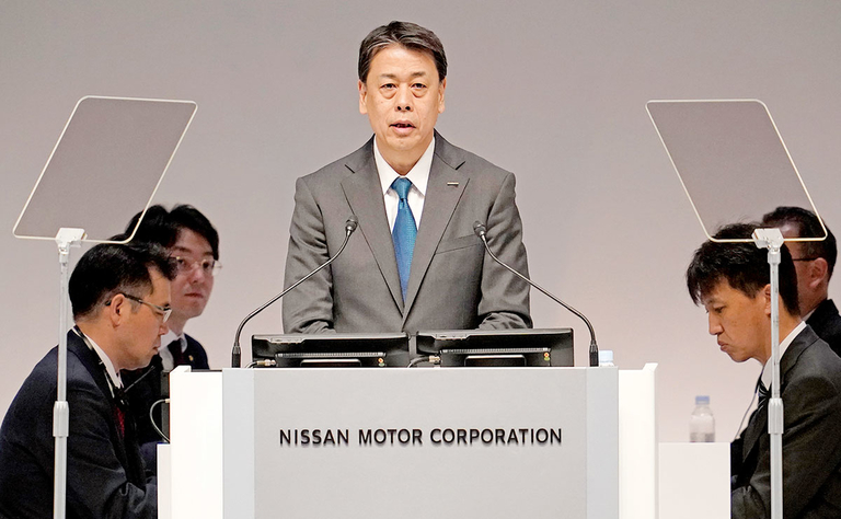 New Nissan CEO faces  fury from investors