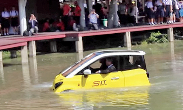 Floating EV aims to save lives in floods