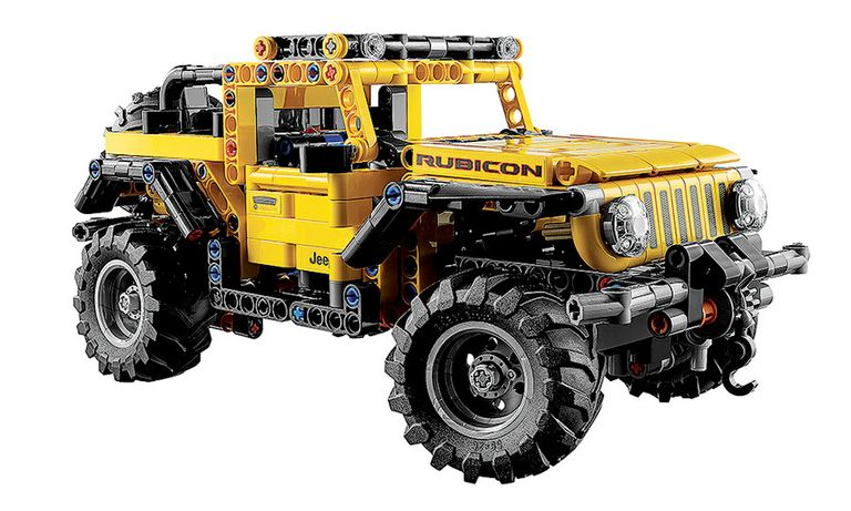 You can go off-carpet with Lego Wrangler