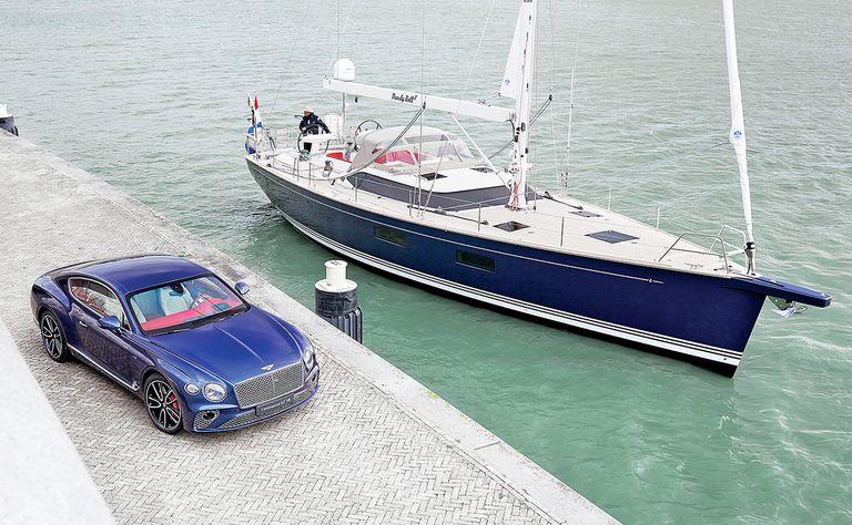 Bentley design floats this customer's boat
