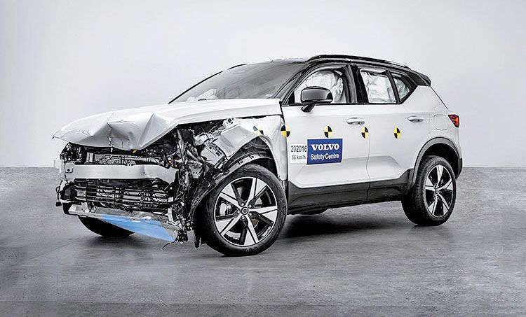 IIHS finds no slackers in Volvo's lineup