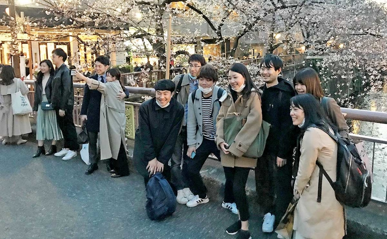 In Japan and Korea, the show goes on