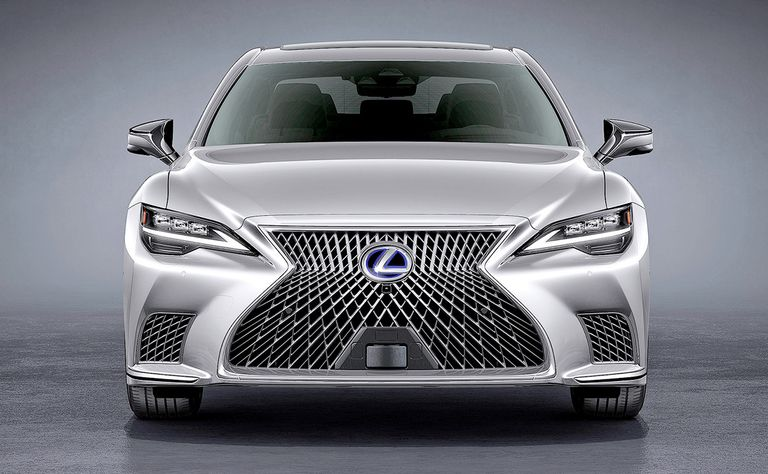 Toyota moves Lexus LS to a higher level of automation