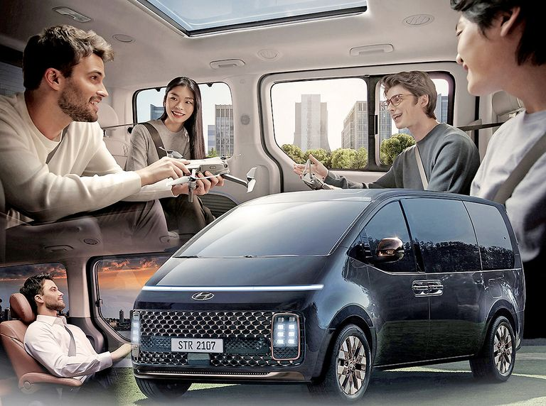 Staria people mover previews Hyundai's approach to new mobility era