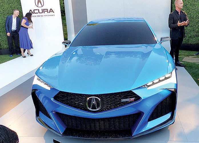 Type S concept leads Acura's design revival
