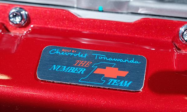 Badge shows off 2020 Corvette's Tonawanda pride