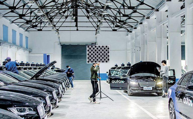 Racing to commercialize AVs