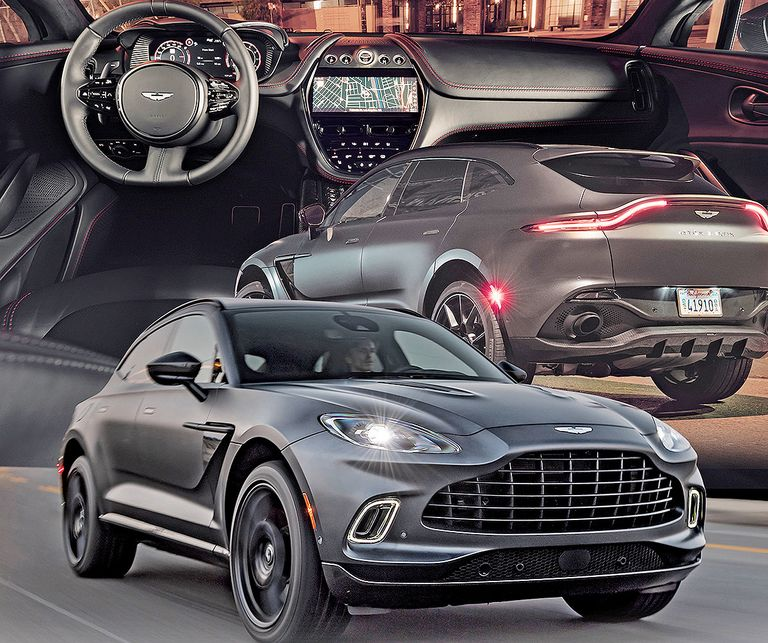 Aston Martin 'right on target' just months after DBX went on sale